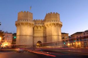 Torres de Serranos. Valencia